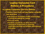 laptop computer cart policies procedures