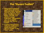 the dysart toolkit