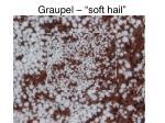 graupel soft hail
