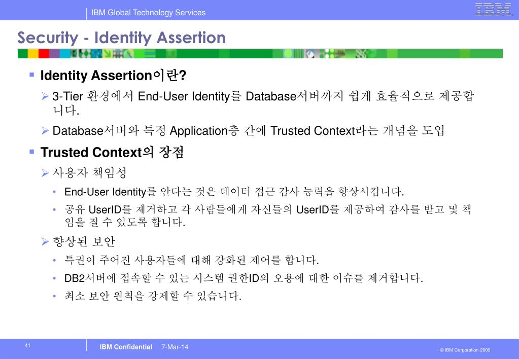 Security - Identity Assertion