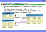 security label based access control23