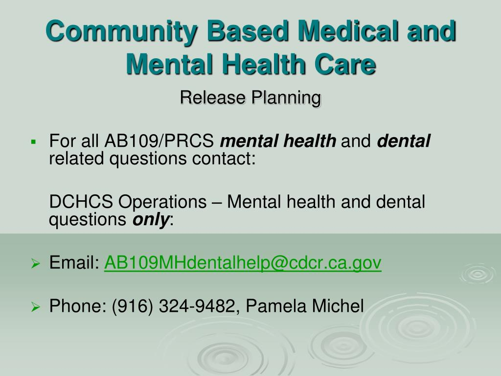 PPT - California Department of Corrections and ...