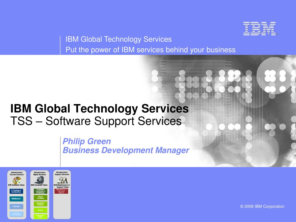 ibm global technology services tss software support services l.