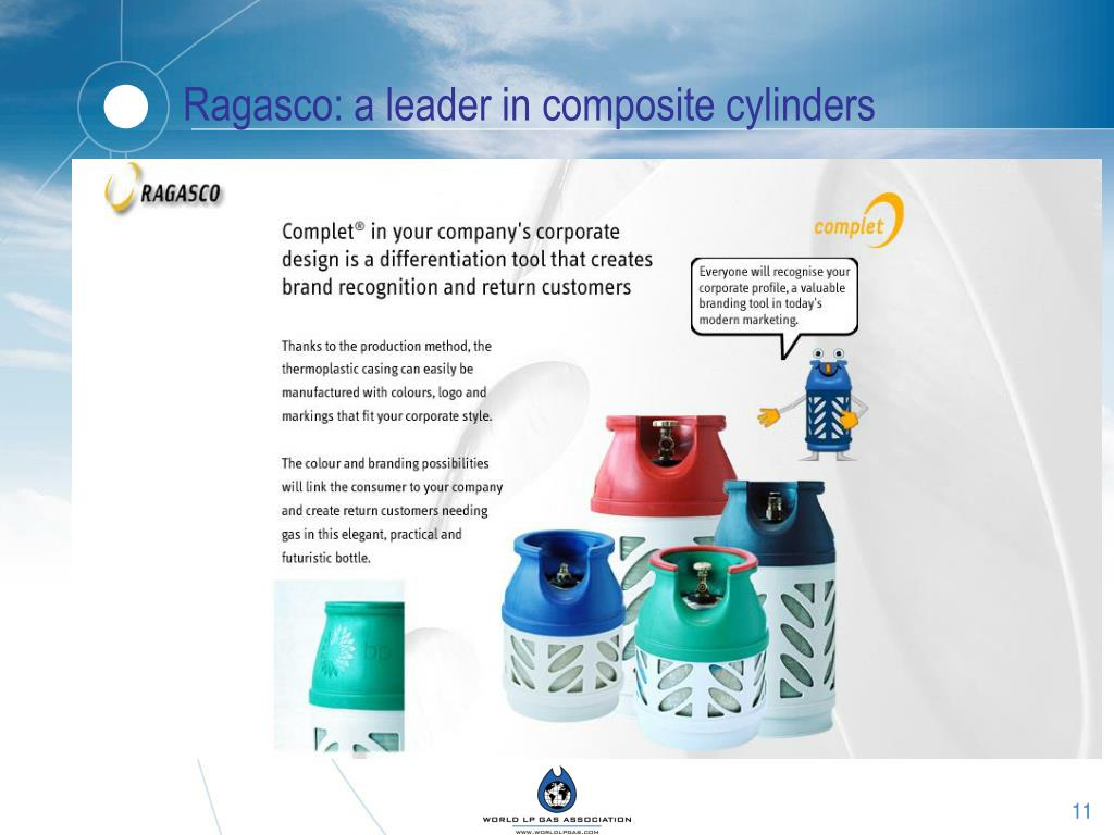 Ragasco: a leader in composite cylinders