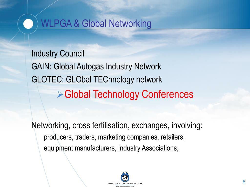 WLPGA & Global Networking