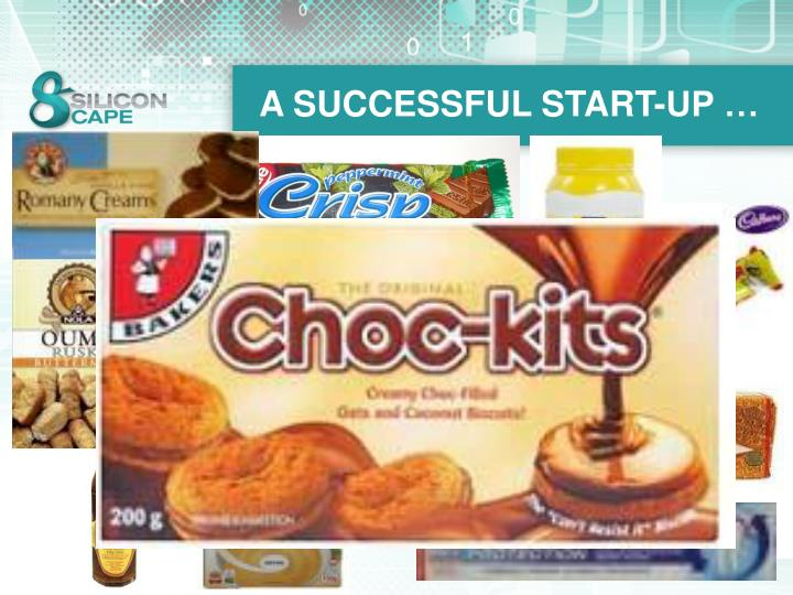 A SUCCESSFUL START-UP …