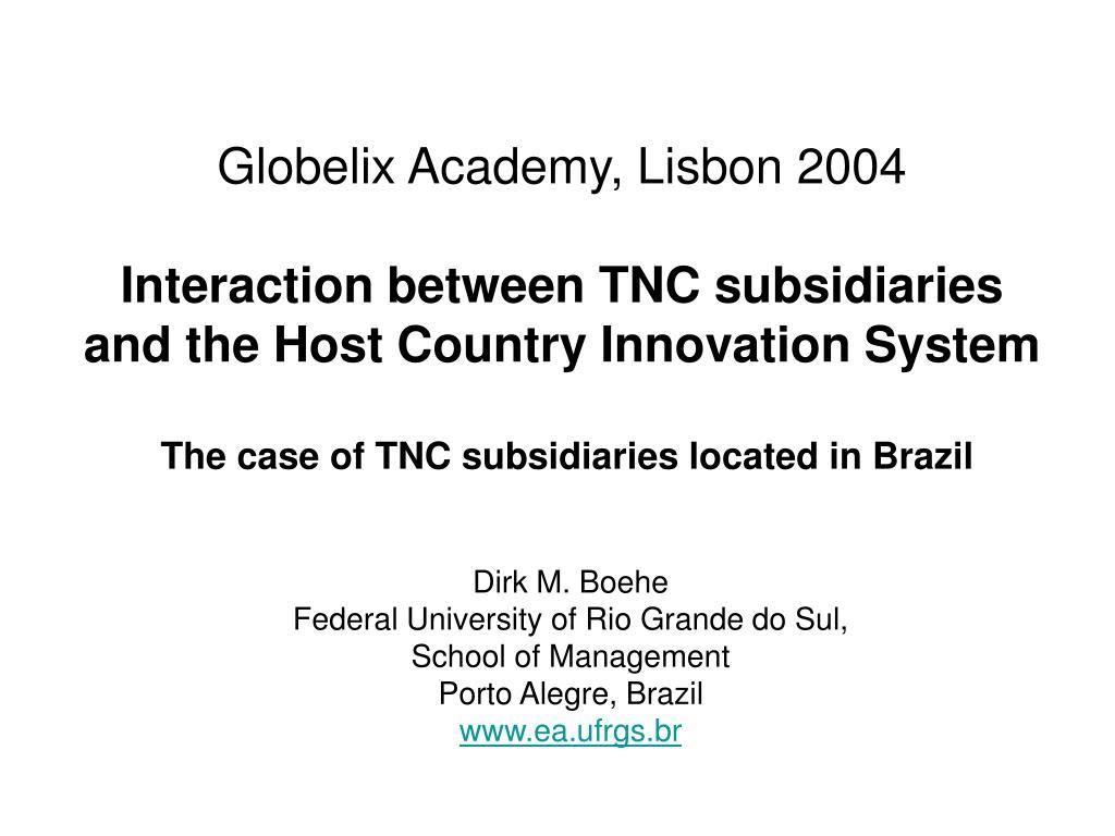 Globelix Academy, Lisbon 2004