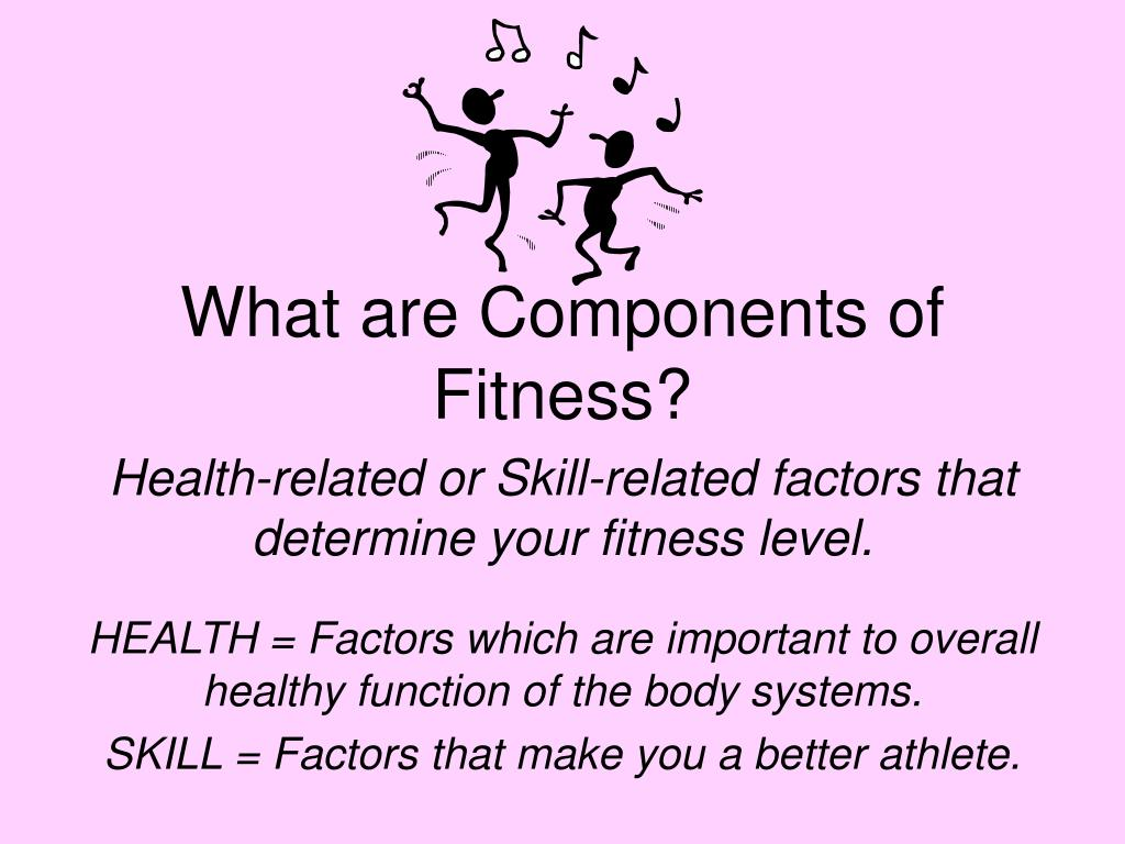 What are Components of Fitness?