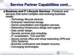 service partner capabilities cont10