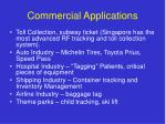 commercial applications
