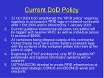 current dod policy