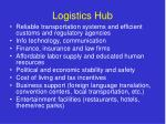 logistics hub