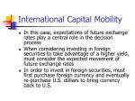 international capital mobility14