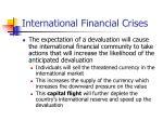 international financial crises24
