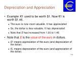 depreciation and appreciation6