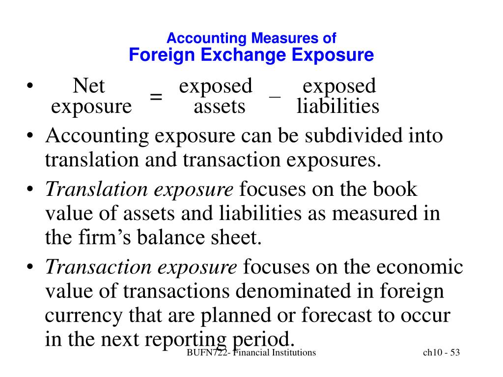Accounting Measures of