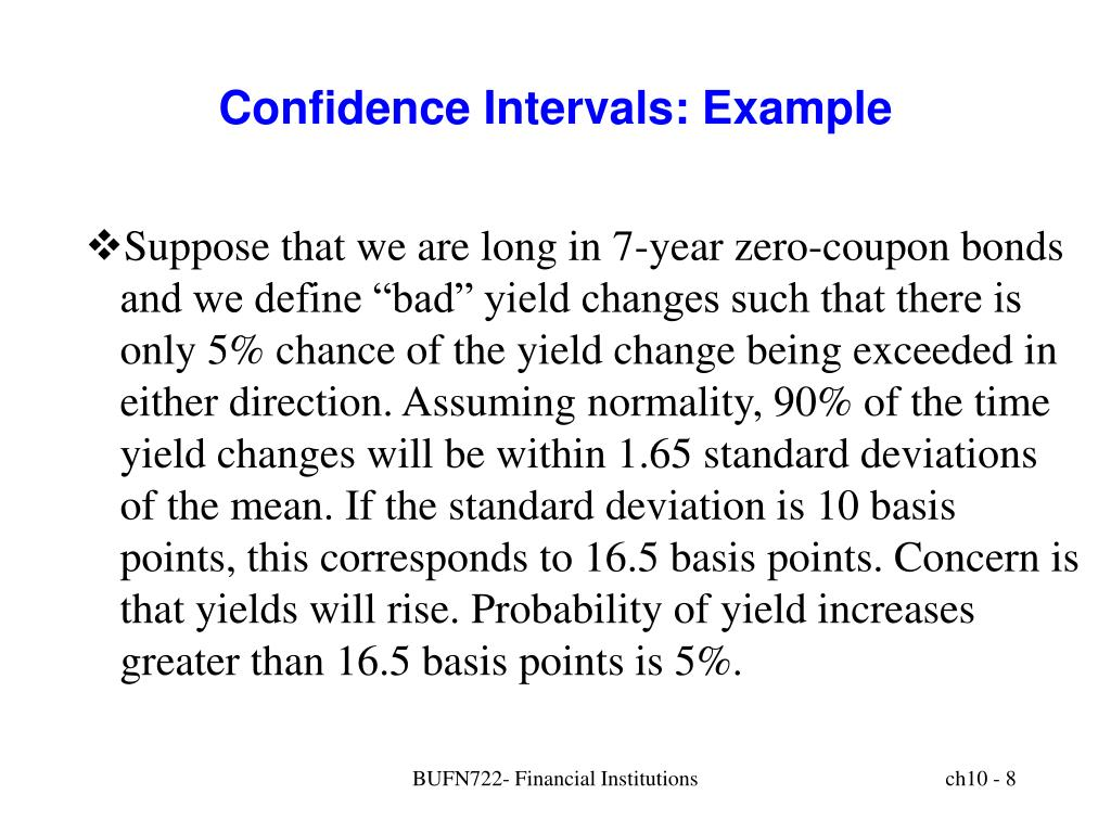 Confidence Intervals: Example
