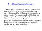 confidence intervals example