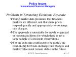 policy issues international financial managers