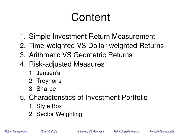 evaluation of portfolios linking risk and return Portfolios that has the maximum expected return for a given level of risk and the minimum risk for a given level of expected return according to the theory, any risk–return combination that does not lie along the efficient frontier would be suboptimal.