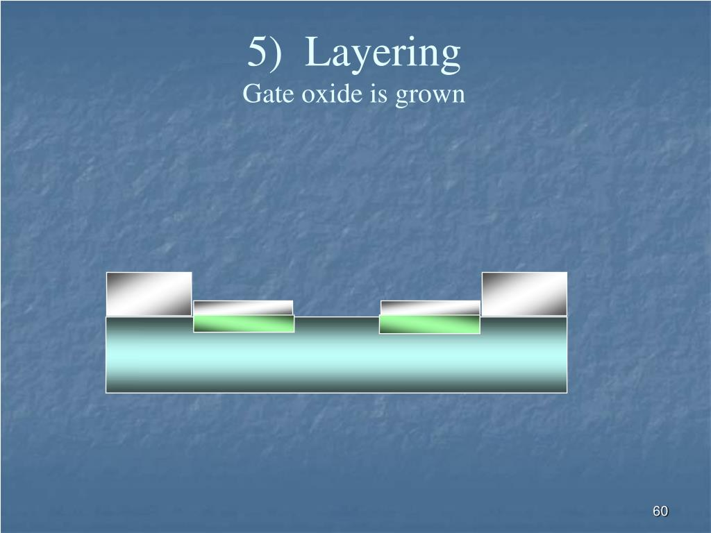 5)  Layering