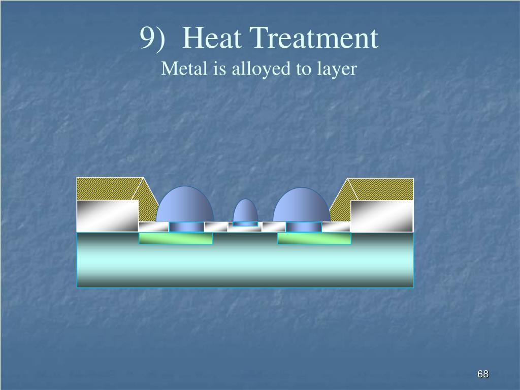 9)  Heat Treatment