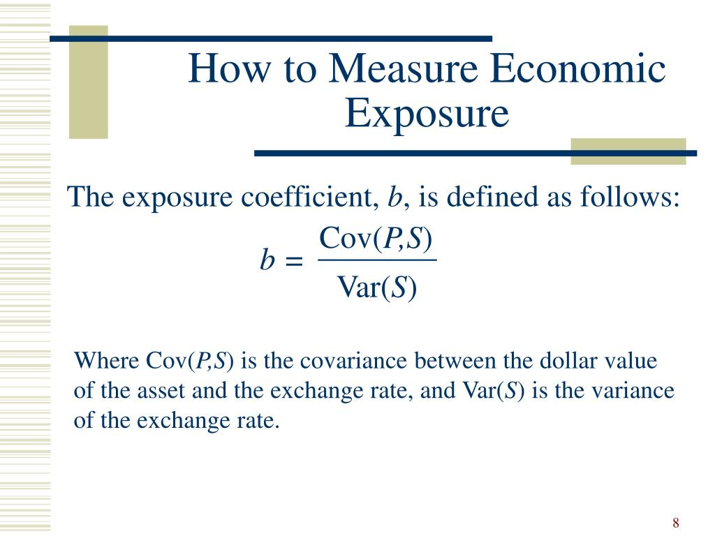 How to Measure Economic 	Exposure