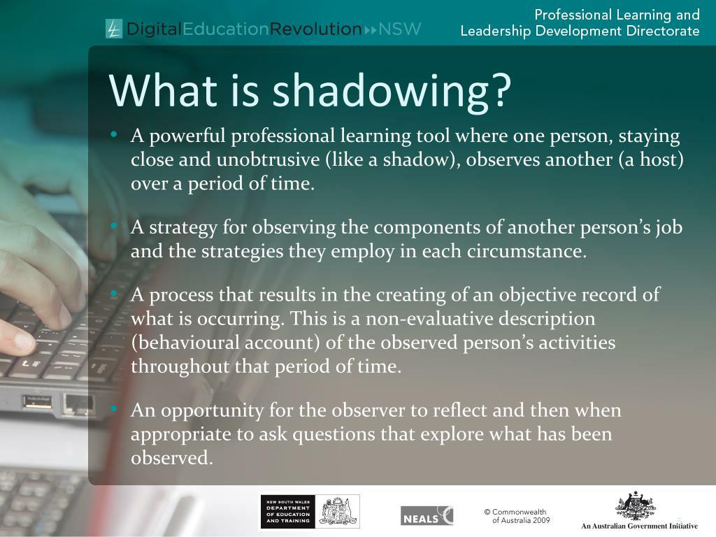ppt - shadowing powerpoint presentation