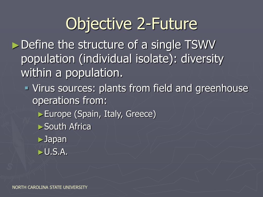 Objective 2-Future