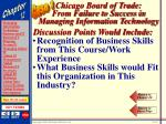 chicago board of trade from failure to success in managing information technology47