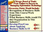 chicago board of trade from failure to success in managing information technology48