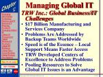 managing global it26