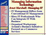 managing information technology6