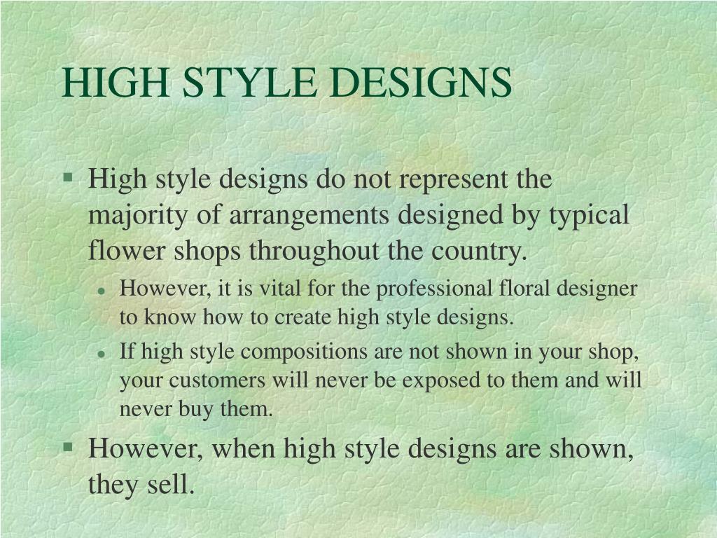 HIGH STYLE DESIGNS