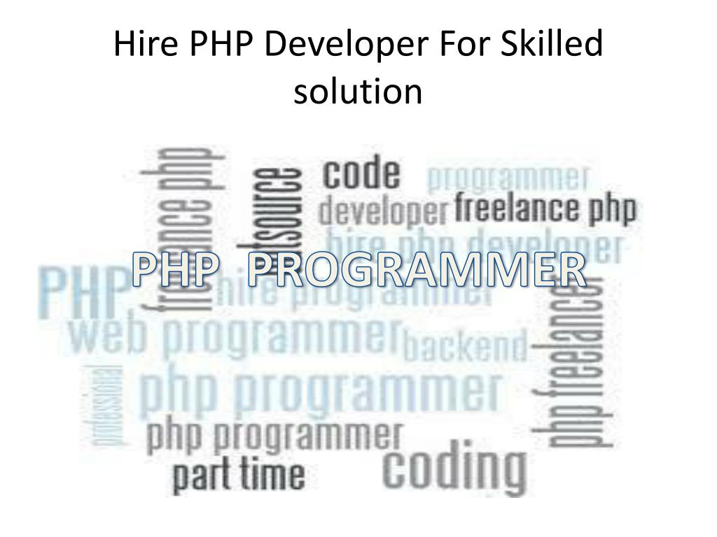 hire php programmer