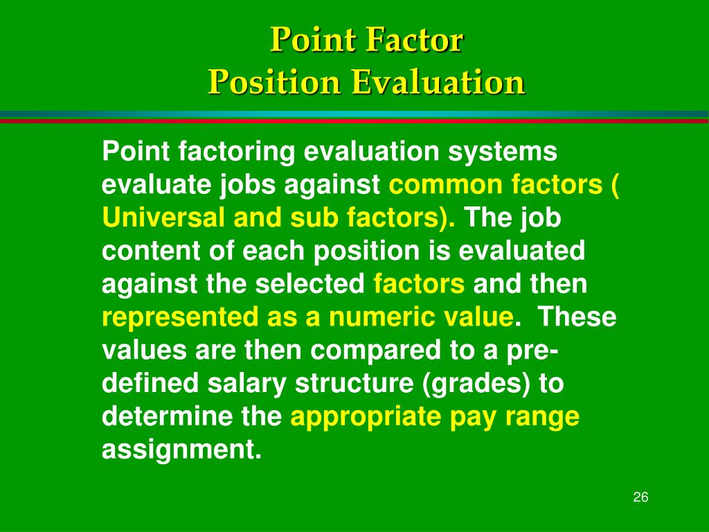 Point Factor