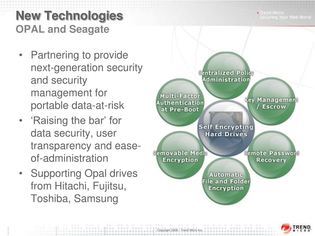 PPT - Trend Micro Data-at-Rest Solution PowerPoint
