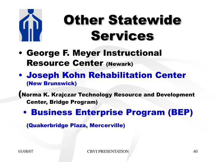 Other Statewide Services