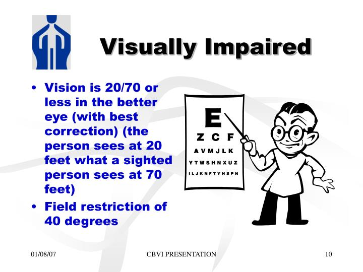 Visually Impaired