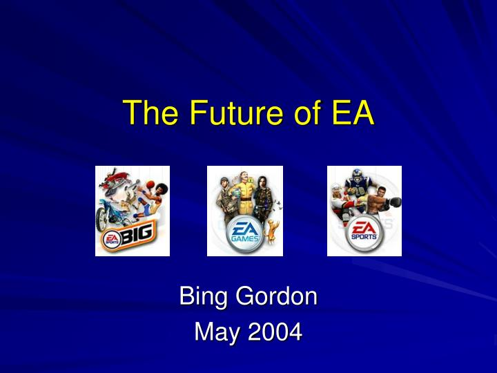 the future of ea n.