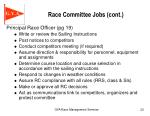 race committee jobs cont7