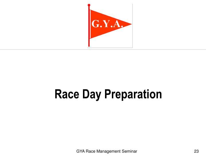 Race Day Preparation
