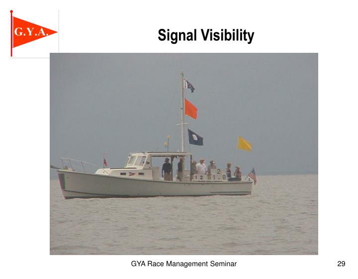 Signal Visibility