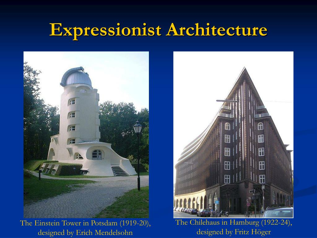 Expressionist Architecture