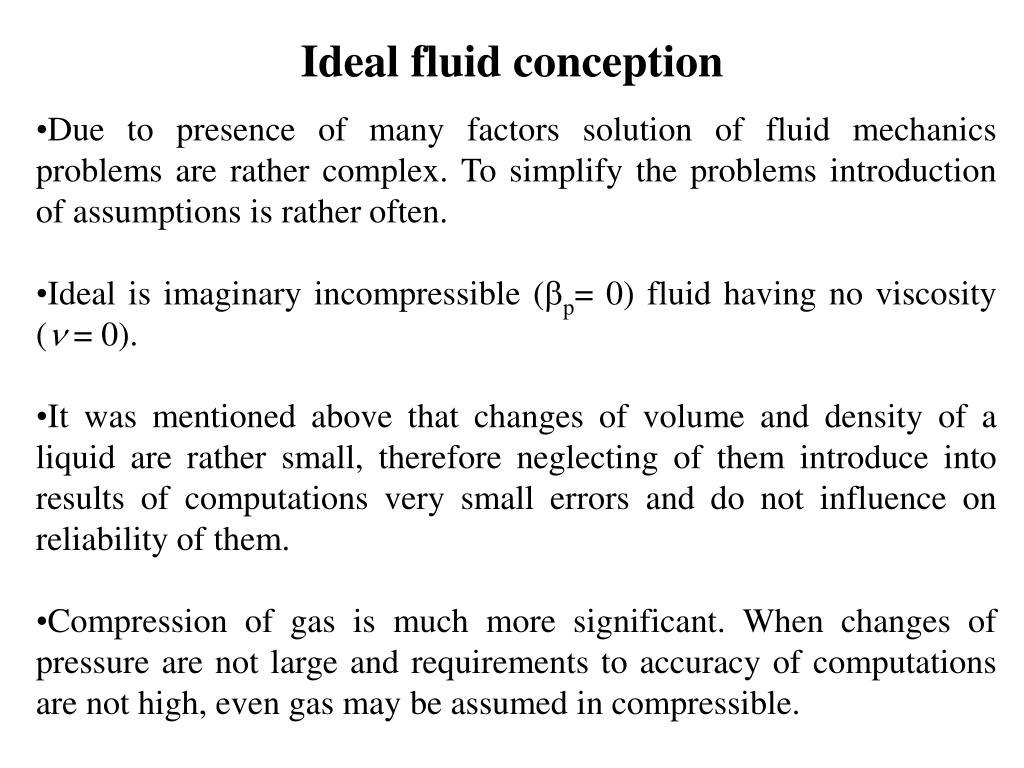 PPT - 1  INTRODUCTION The subject of applied fluid mechanics