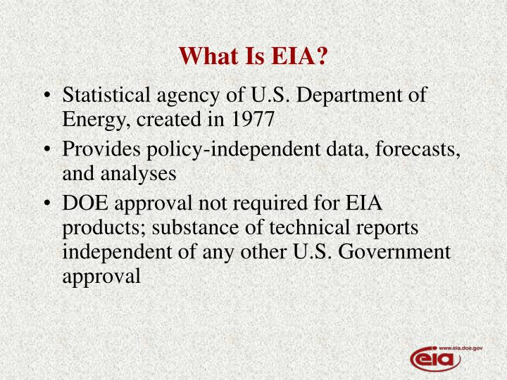 What is eia