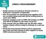 open e procurement