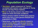 population ecology53