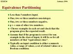 equivalence partitioning6