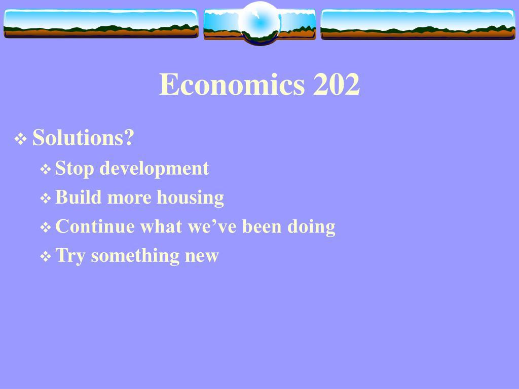 economics 202